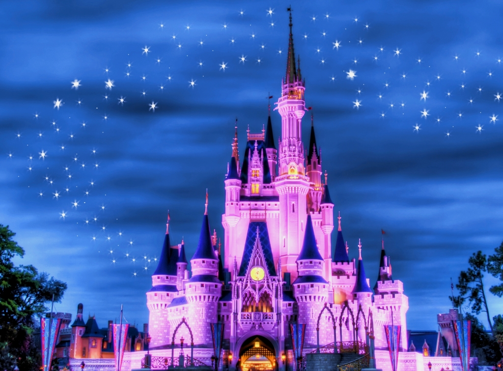 Magic Kingdom Castle Night