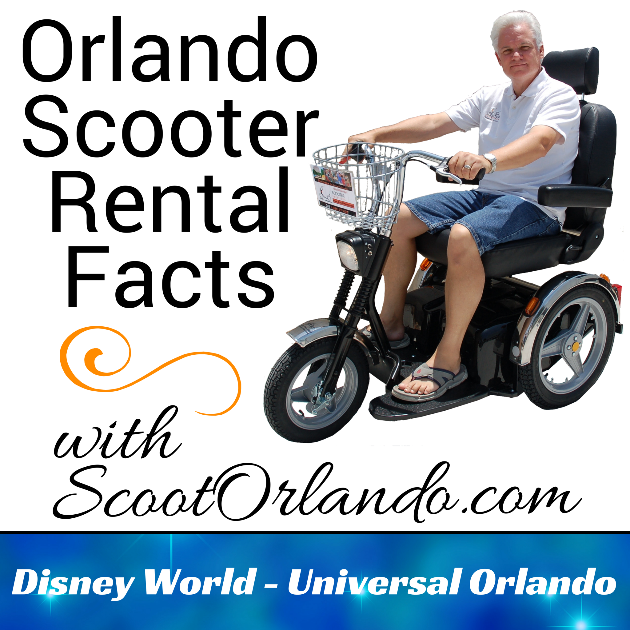 Renting a Scooter at Disney World
