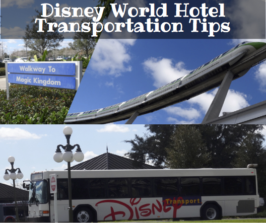 Disney World Hotel Transportation Tips FB Ad