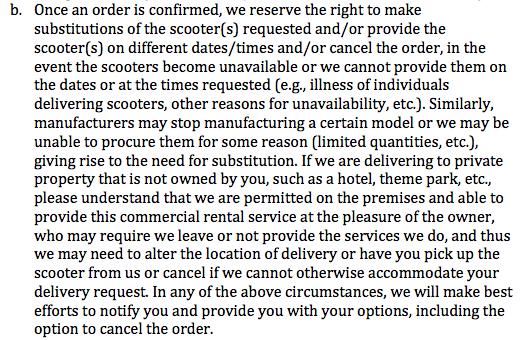 Orlando Stroller Rental  - Scooter Rental Excerpt